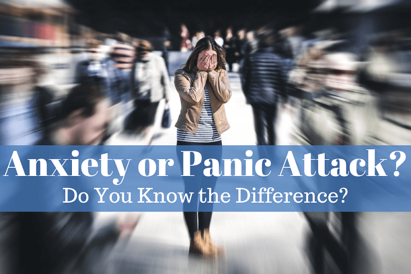 The Difference Between Anxiety Attack vs Panic Attack